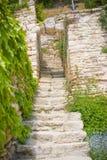 Escalier de château Photo libre de droits