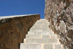 escalier de ciel à Images libres de droits