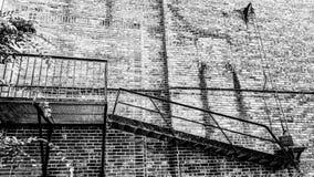 Escalier de délivrance Images libres de droits