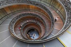 Escalier de double hélice photo libre de droits