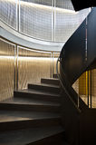 escalier de fer Image stock
