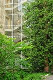 Escalier de Glassed Photos libres de droits