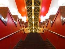 Escalier de granit vers le haut photo libre de droits