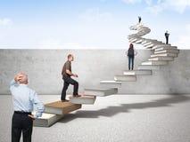 Escalier de la connaissance Photos libres de droits