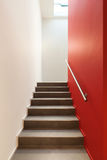Escalier de maison Photos libres de droits
