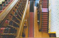 Escalier de manoir de Petworth Image libre de droits