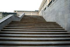 Escalier de marbre, affaires, manière au succès photographie stock