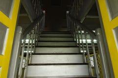 Escalier de Masjid Ihsaniah Iskandariah chez Kuala Kangsar photos libres de droits