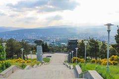 Escalier de monument Photographie stock libre de droits