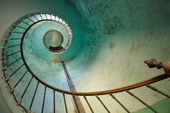 Escalier de phare Photo stock