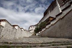 Escalier de potala photos libres de droits