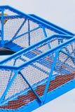 Escalier de rambarde Image stock