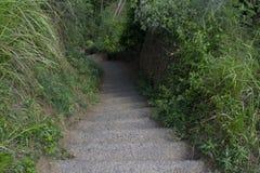 Escalier de roche Photos libres de droits