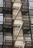 Escalier de secours Images libres de droits
