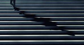 Escalier de succès illustration de vecteur