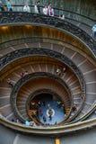 Escalier de Vatican Photos libres de droits