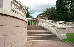 Escalier de vestibule Photographie stock libre de droits