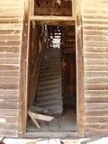 Escalier de ville fantôme Image libre de droits