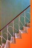 Escalier de vintage Images libres de droits