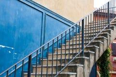 Escalier de vintage Photo libre de droits