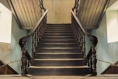 Escalier de vintage Photographie stock