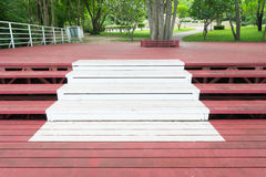 Escalier en acier Photo stock