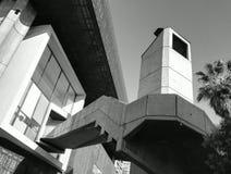 Escalier en béton Photo stock