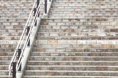 Escalier en béton en pierre Image stock