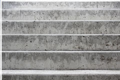 Escalier en béton gris Image libre de droits