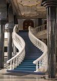 Escalier en Jame Asr Hassanil Bolkiah Mosque Bandar Seri Begawa image libre de droits