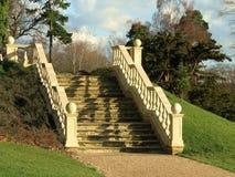 Escalier en pierre élégant Photos libres de droits