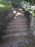 Escalier en pierre photographie stock