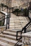 Escalier en pierre Images libres de droits