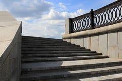 Escalier en pierre Photo libre de droits