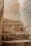 Escalier en pierre Photos libres de droits