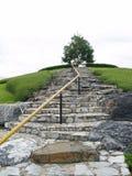 Escalier en pierre Images stock