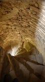 Escalier en pierre dans la tour Photo libre de droits