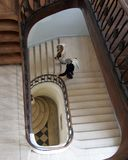 Escalier en spirale image libre de droits