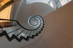 Escalier en spirale. image libre de droits