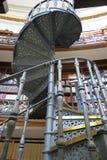 Escalier en spirale de bibliothèque de Liverpool Photo libre de droits