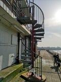 Escalier en spirale Gorleston photos libres de droits