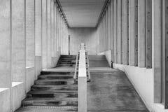 Escalier et rampe Images stock