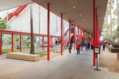 Escalier extérieur de Musée d'Art du comté de Los Angeles Photo libre de droits