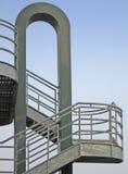 Escalier externe Photos libres de droits