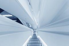 Escalier futuriste Image libre de droits
