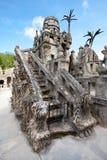 Escalier idéal de château de Palais Image libre de droits