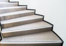 Escalier incurvé photo stock