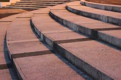 Escalier incurvé Photographie stock