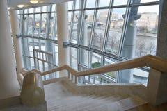Escalier intérieur Photo libre de droits