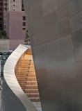 Escalier à la salle de concert de Walt Disney. Photos stock